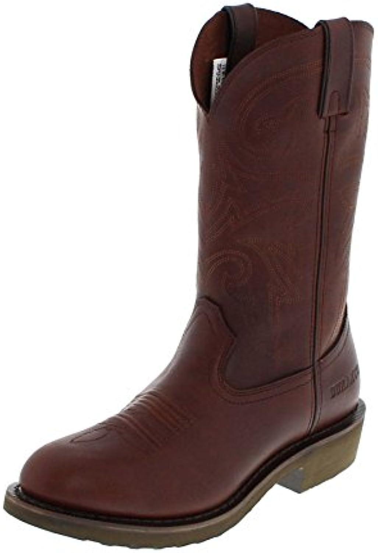 Durango Boots FR104 D Pull on Brown Lederstiefel für Herren Braun WesternstiefelDurango Boots Lederstiefel Westernstiefel Groesse