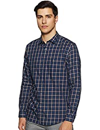 Allen Solly Men's Geometric Print Regular fit Casual Shirt