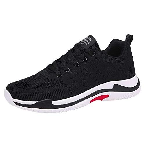 Bluestercool Uomo Scarpe Running Sneakers Moda Wild Breathable Mesh Leggero Scarpe Sportive Casual Scarpe da Corsa