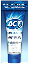 3 Pack - Act Dry Mouth Anticavity Fluoride Toothpaste, 4.6 oz