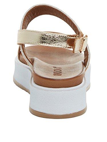 INUOVO scarpe donna sandali 7459 ORO Oro