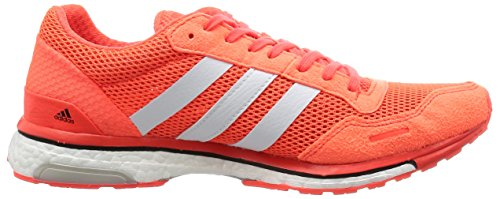 adidas Adizero Adios 3 M, Chaussures de Running Entrainement Homme Rouge (Solar Red/ftwr White/core Black)