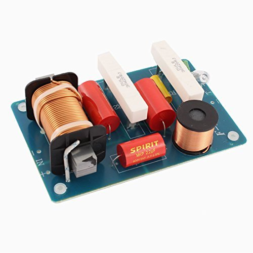 DealMux Audio Crossover Filtros 500W divisor de frecuencia