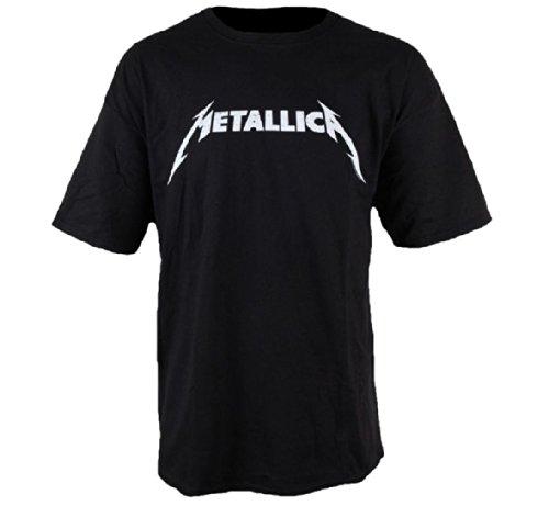 Metallica - Camiseta - Hombre de color Negro de talla Large -...