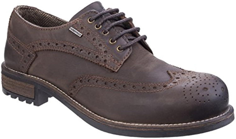 Cotswold Oxford Waterproof Brogue Mens Shoe