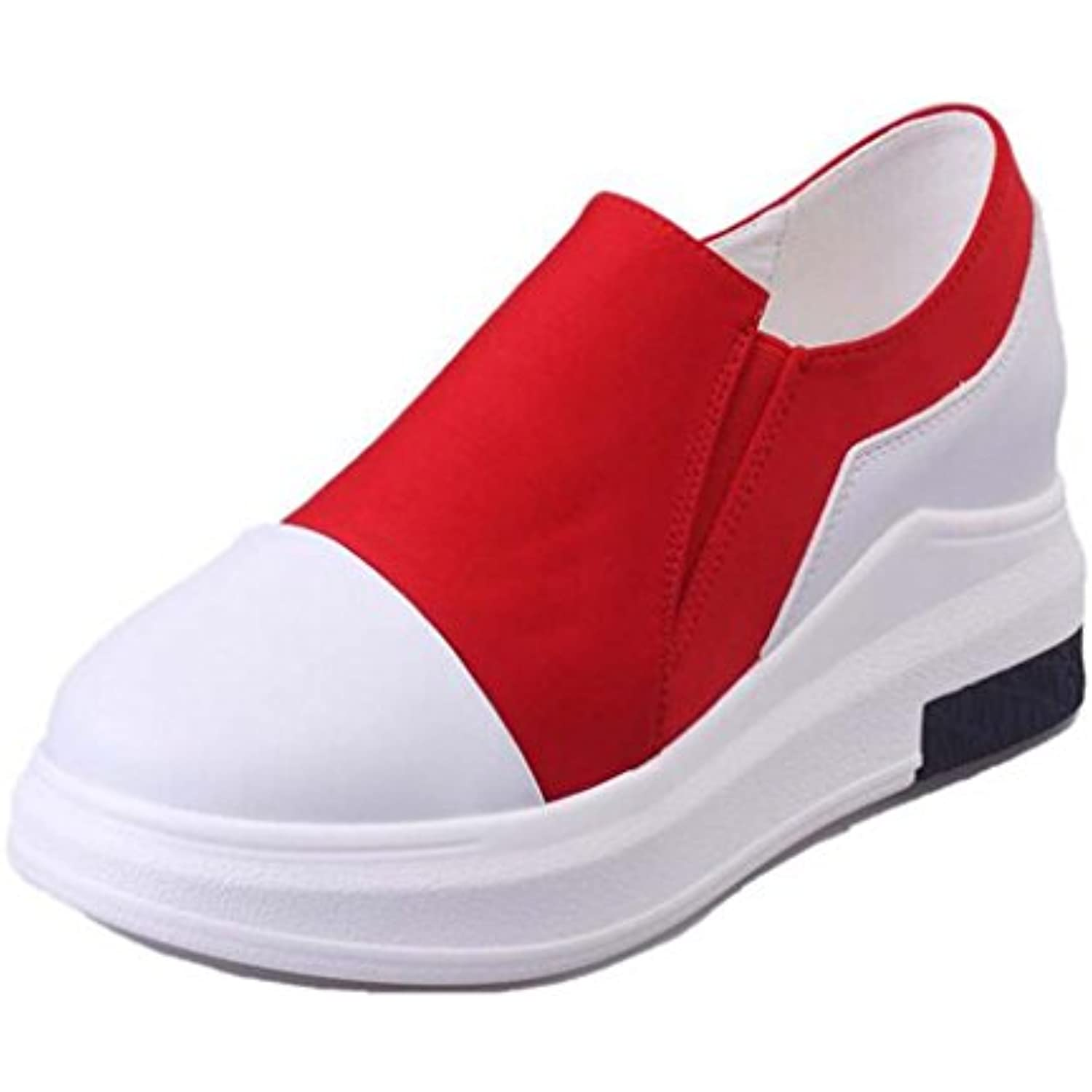 Binying Chaussure Femme Mode Mocassin slip-on agrave; agrave; agrave; Talon Compens eacute; B06XY1D613 - def056