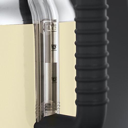Russell Hobbs Retro Vintage 21672-70 Wasserkocher 2400 W, 1.7 l mit  stylischer Wassertemperaturanzeige, Schnellkochfunktion, creme - 5