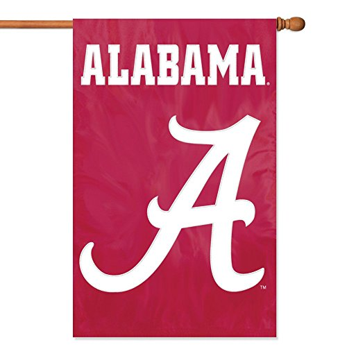 Party Animal Offiziell lizenzierte NCAA College Banner Flaggen, damen Kinder Herren unisex, Alabama Crimson Tide
