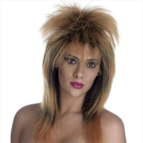 Rocker Perücke Abendkleid-Perücken Funky Disco Night Parties Damen Kostüm Haar ()