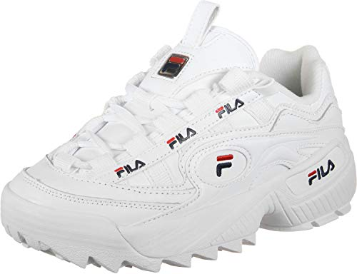 Fila D Formation W Scarpa White Navy Red