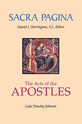 Acts of the Apostles (Sacra Pagina Series)