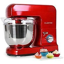Klarstein Gracia Rossa • Robot amasador • Ayudante de cocina • Amasa, tritura, bate