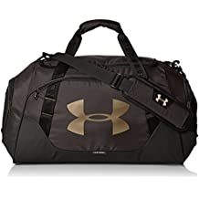 Under Armour Undeniable Duffle 3.0 Bolsa de Deporte, Unisex, Black Full Heather, Talla Única