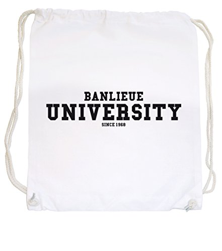 Banlieue University Sac De Gym Blanc Certified Freak