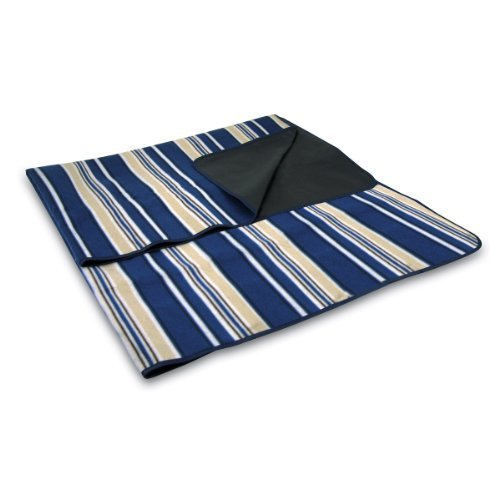 picnic-time-outdoor-picnic-blanket-tote-blue-with-stripes-by-picnic-time