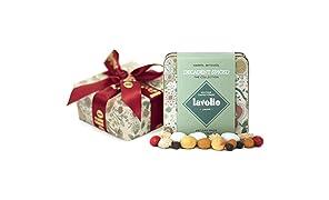 Lavolio Decadent Spiced Confectionery - Geschenkedose mit Geschenkpapier präsentiert - 175g