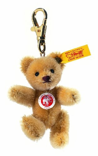 steiff-8cm-keyring-mini-teddy-bear-jointed-wheat-blond-by-steiff