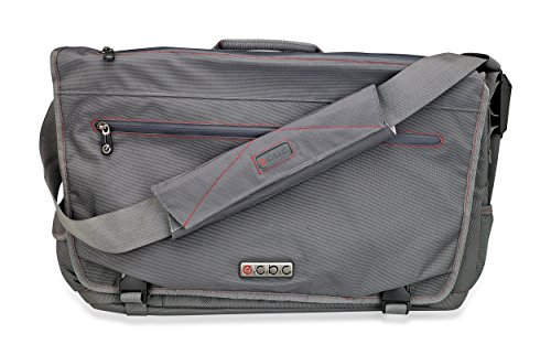 ecbc-trident-fastpass-messenger-bag-for-15-inch-laptop-tsa-friendly-grey
