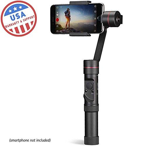 Evo sp-pro Gen23Axis estabilizador cardán, iPhone funciona con iOS & Android smartphones, avanzada Evo Camera + 1año de garantía EE. UU.