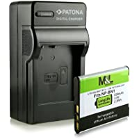 Chargeur + Batterie NP-BN1 pour Sony Cybershot DSC-W310 W320 W330 W350 W360 W380 W390 W510 W520 W530 W550 W560 W570 W580 W610 W620 W630 W650 W670 W690 W710 W730 W810 W830 T99