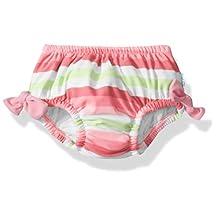 I Play Baby UPF 50+ Güneş Korumalı Sızdırmaz Bebek Mayosu, Pembe