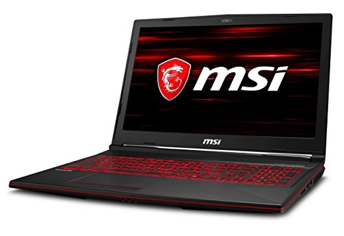MSI GL63 8RE-455IN 2018 15.6-inch Laptop (Core i7-8750H/16GB/128GBSSD+1TB/Windows 10/6GB Graphics), Black