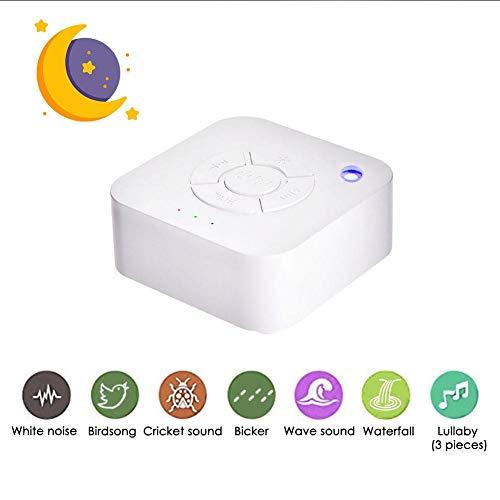 äuschmaschine USB wiederaufladbare zeitgesteuerte Shutdown Schlaf Sound Maschine zum Schlafen & Entspannung für Baby Erwachsene Büro Reise ()