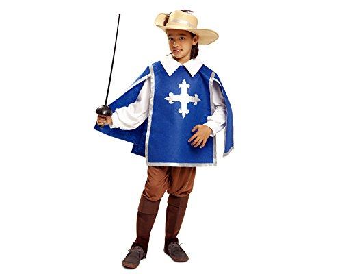 Imagen de my other me  disfraz de mosquetero para niño, 7 9 años viving costumes 201192