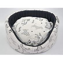 megawebstore Sofá Cama caseta para Perro cojín colchón para Perro, Mod.
