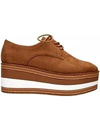 d8c631c0ec3 Amazon.es  blucher zapatos mujer plataforma - Zapatos  Zapatos y ...