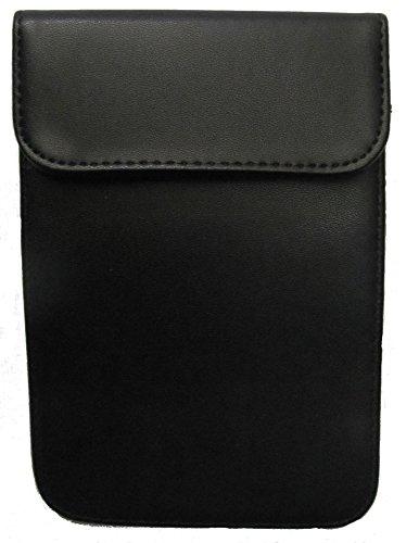 Schwarze Funk Stop Tasche, 2 Fächer (Vorne = Empfang) für Handy,Smartphone, Ausweis-,Kranken-&Kreditkarten! Schutz vor Strahlung,RFID-Datenklau, Erstellen eines GPS-Bewegungsprofiles Bluetooth-jammer