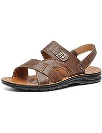 Sandalias hogar de verano para hombre,Sonnena Los hombres de verano antideslizantes chanclas zapatos sandalias de playa y hogar
