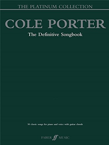 Cole Porter: The Definitive Songbook - The Platinum Collection. Partituras para Piano, Voz y Guitarra