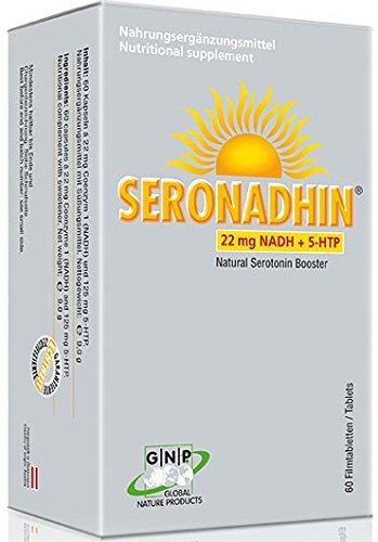 SERONADHIN - 22mg NADH + 5-HTP (Griffonia simplicifolia) - 60 Tabletten -