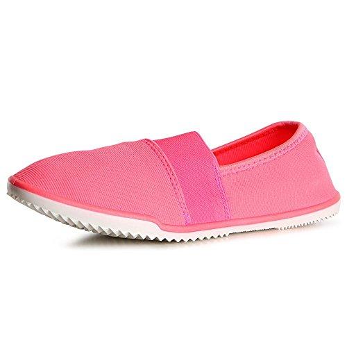 topschuhe24, Ballerine donna Pink