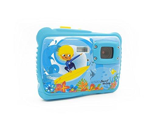 "Easypix W520 SURF Buddy - Cámara digital de 5 Mp (pantalla de 1.77"", zoom digital 4x), azul"