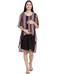1e836a1beaad7 Midi Maternity Dresses: Buy Midi Maternity Dresses online at best ...