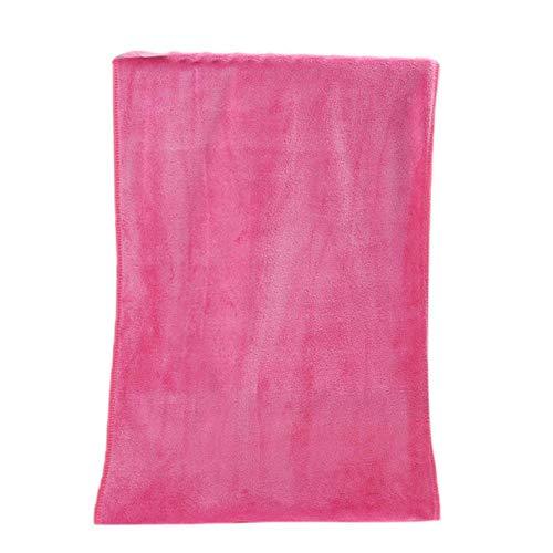 PENVEAT Penvate Badehandtuch, saugfähig, superfeine Faser, komfortabel, 35 x 75 cm Rose