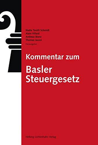 Kommentar zum Basler Steuergesetz
