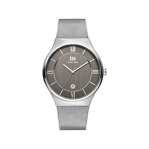 DANISH DESIGN Reloj Analógico para Hombre de Cuarzo con Correa en Acero Inoxidable IQ64Q1240