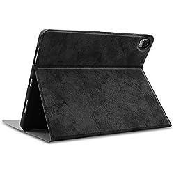 LbojailiAi Custodia per tastiera wireless Bluetooth per iPad Air 1/2 / Pro 9.7 2017/2018 Black