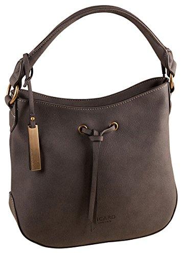 Picard Heritage Damenhandtasche, M, (olive) Schwarz