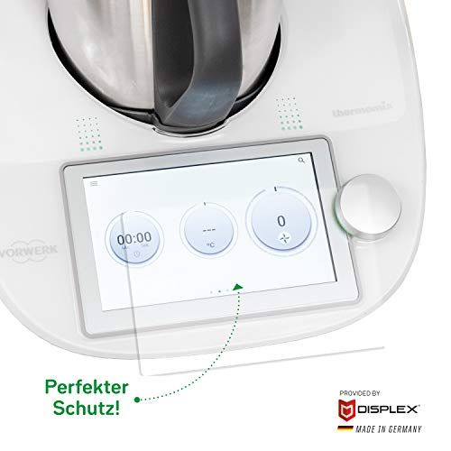 Wundermix HYBRID-GLAS | Displayschutz für Thermomix TM6 | Made in Germany