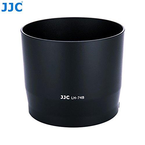JJC Gegenlichtblende für Canon EF 70-300mm f/4-5.6 is II USM ersetzt Canon Gegenlichtblende ET-74B mit Knopf zum Verschließen oder Auslösen