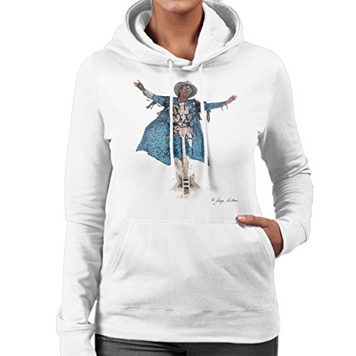 George DuBose Official Photography - Bootsy Collins Guitar Women's Hooded Sweatshirt