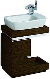 keramag silk handwaschbecken unterschrank 816441 40x44x29cm wenge k che haushalt. Black Bedroom Furniture Sets. Home Design Ideas
