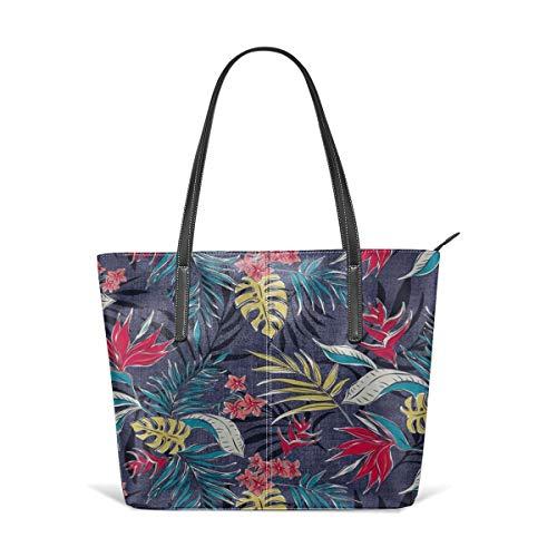 saibing Bali Tropics - Resort-Fine Handbag Fashionable Design Waterproof, Large Capacity, Durable, Lightweight, Flexible, Suitable For Work, Travel.