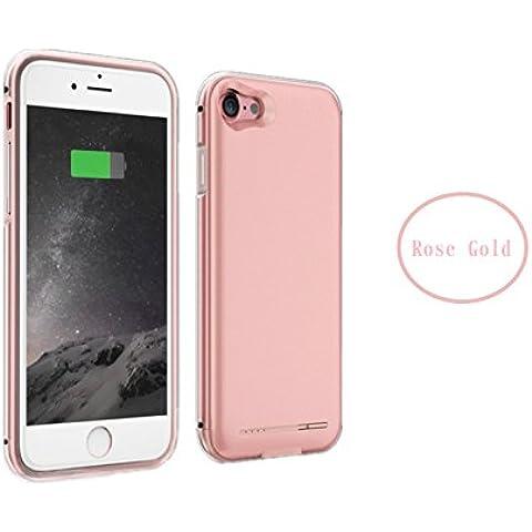 andomo Super Slim per Apple Iphone 7ricaricabile 2800mAh–NON sbalzo sul