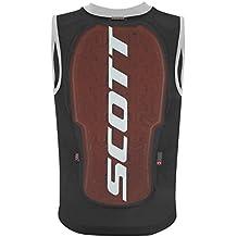 Scott Niños Vest Jr Actifit Plus espalda, otoño/invierno, infantil, color negro/gris, tamaño small