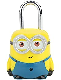 BUCKLE UP Minion Blue-Yellow Luggage Lock
